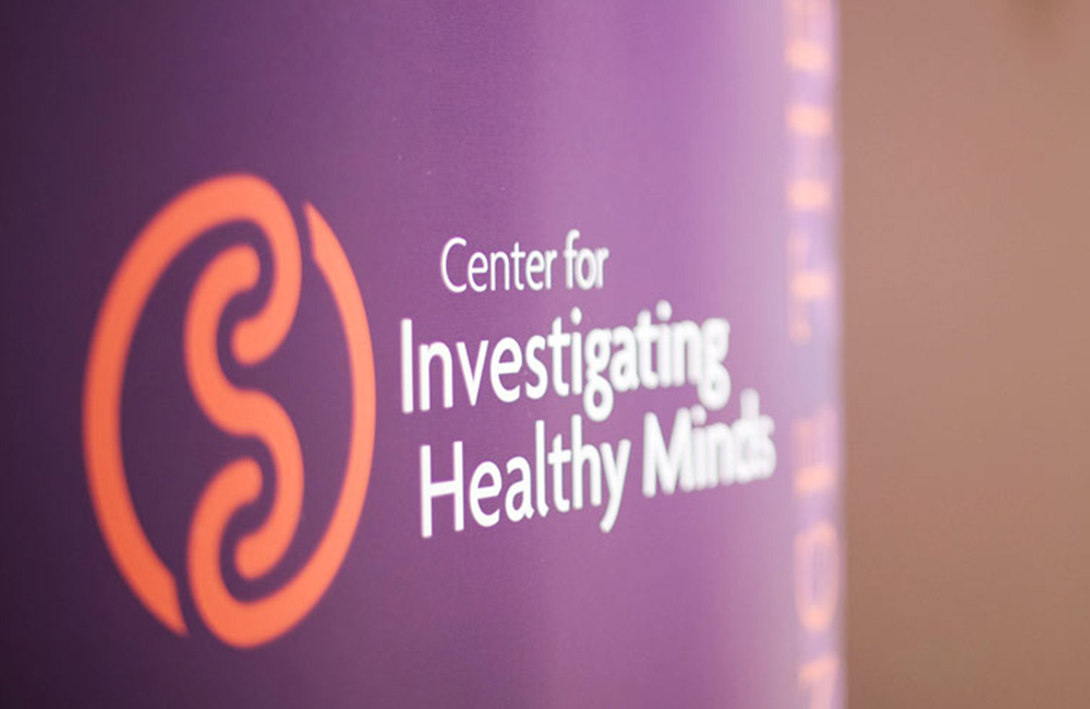 a picture of the entrance to the Center for Investigating Healthy Minds
