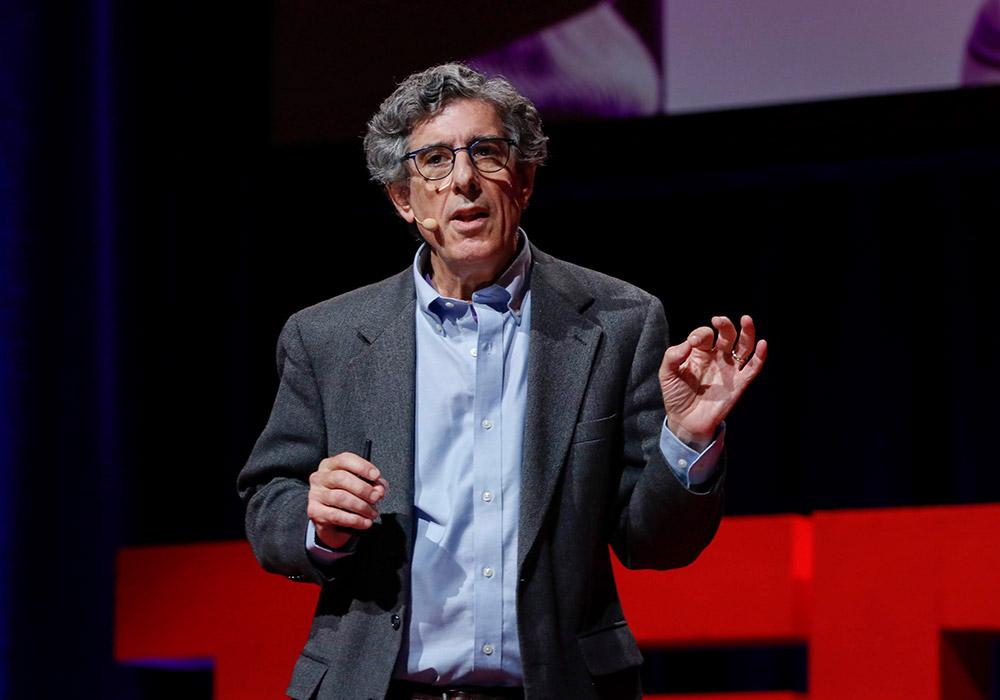 Dr. Richard Davidson giving a Ted X Talk