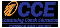 Continuing Coach Education logo